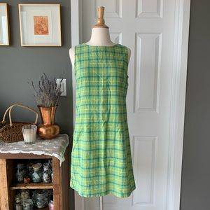 Vintage 90's cotton shift dress 1732